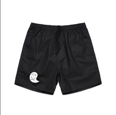 Shy Ghost Beach Shorts