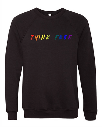 Rainbow Think Free Sweater- Limited Qty