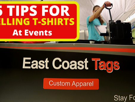 5 Tips For Selling T-Shirts At Events