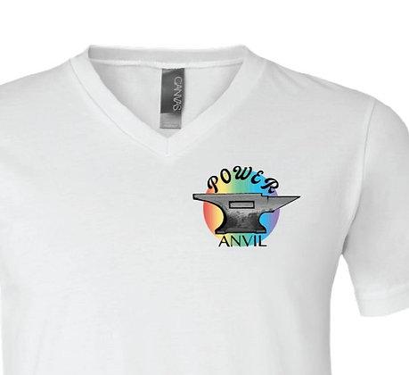 Rainbow Anvil V-Neck