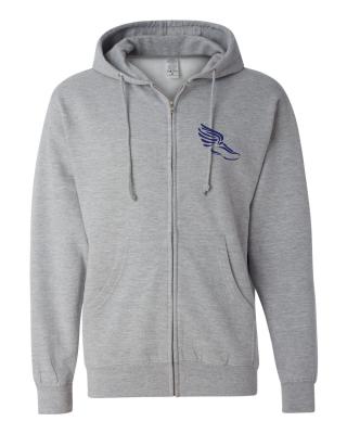 Zip Hoodie : Gray