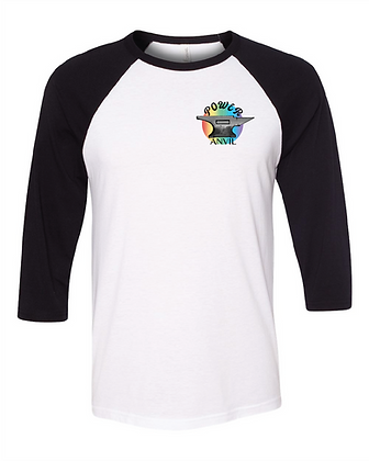 Rainbow Anvil Unisex Baseball Tee