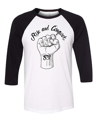 Rise and Conquer Raglan T-Shirt