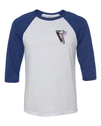 Trans Unisex Baseball Tee