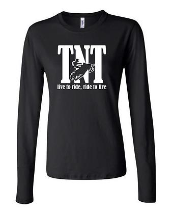 TNT Bold Logo - Woman's Long Sleeved Shirt