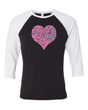 Spread The Love Raglan T-Shirt