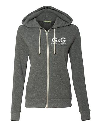 ECO Fleece ZIP Hoodie : Gray