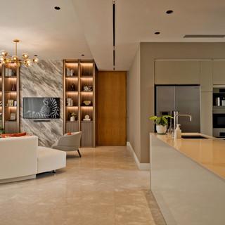 Ardmore Park _ Living & Kitchen Area