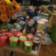 Streetworx food donations