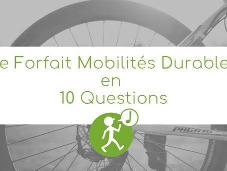 Le Forfait Mobilités Durables en 10 questions