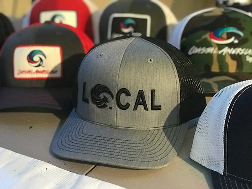 LOCAL 3D Trucker Heathered Grey/Black