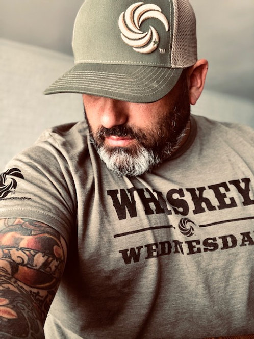 Whiskey Wednesday T Military Green