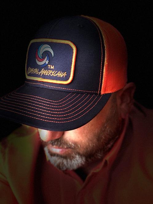 Navy Patch Hat Trucker Navy/Orange