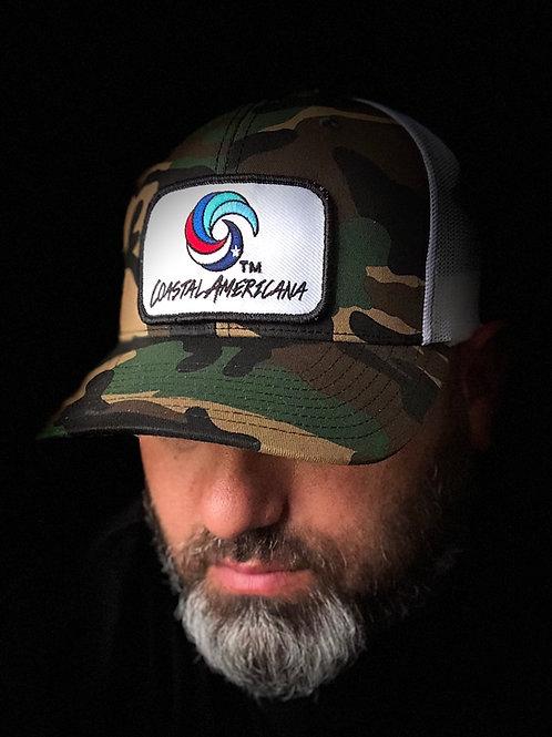 Patch Hat Trucker Camo