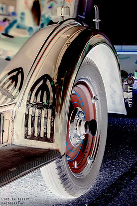 Photograph of Classic Custom Chevrolet Wheel Arch