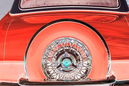 Photgraph of Custon CLassic Thunderbird Spare Tyre
