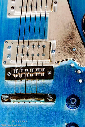 Photograph Of Old Ibanez Guitar