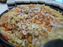 Risotto de fruits de mer