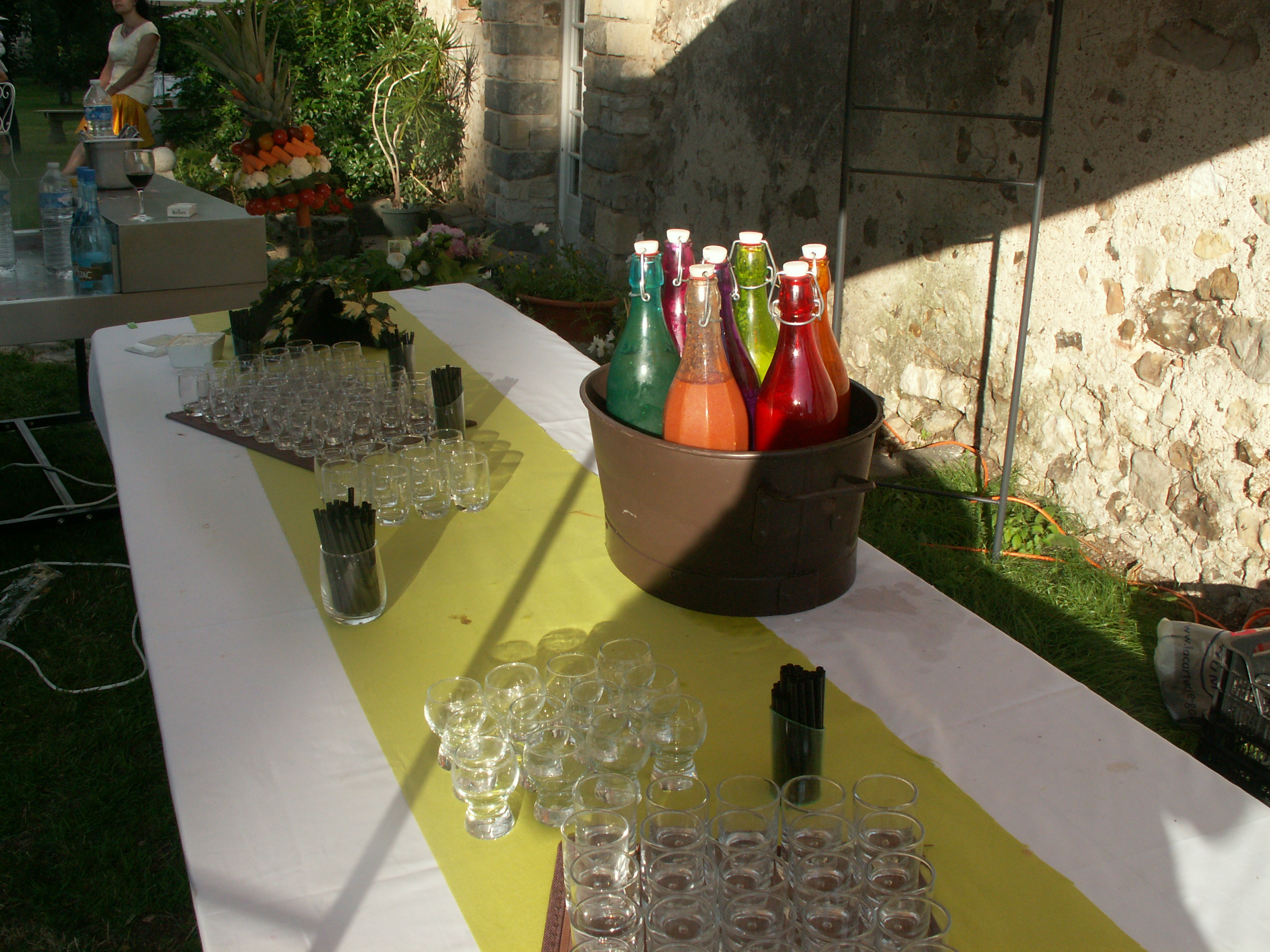 buffet de gaspacho