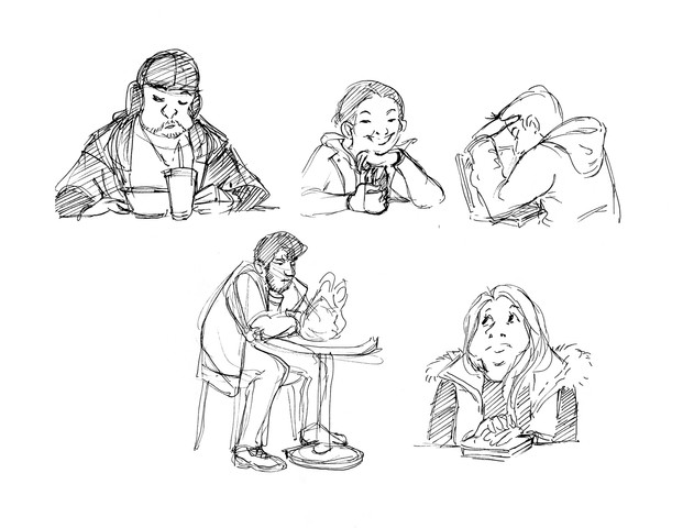 Mall sketches