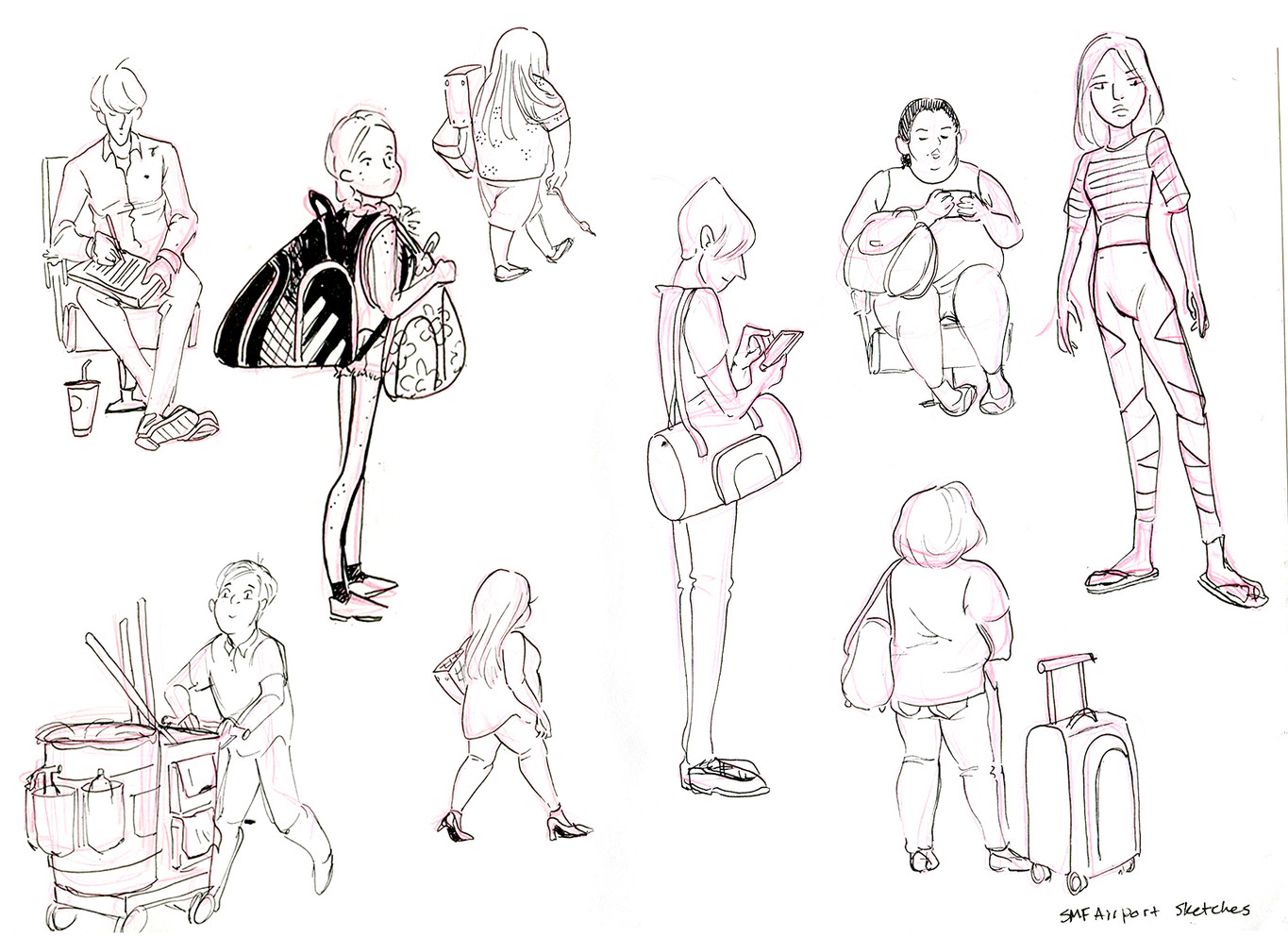 Airport Sketches