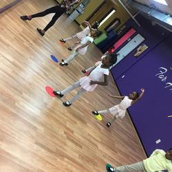 Thursday night with the tiny ballerinas!! #dancingforhisglory #tinyballerina #prettybrowndancers #pr