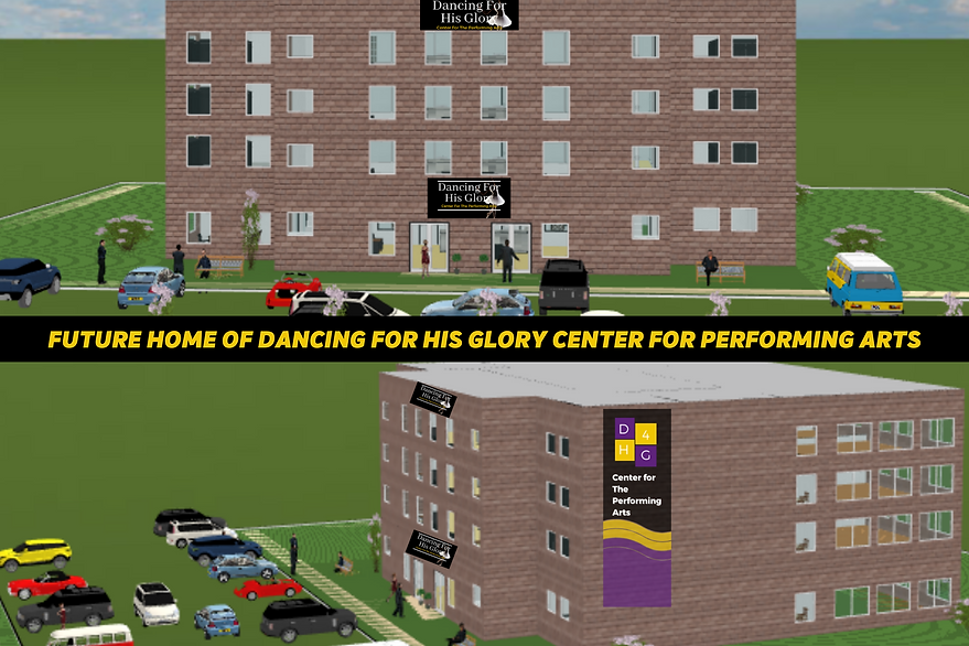 FUTURE HOME OF DANCING FOR HIS GLORY CEN