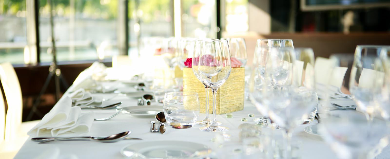 Détail table mariage
