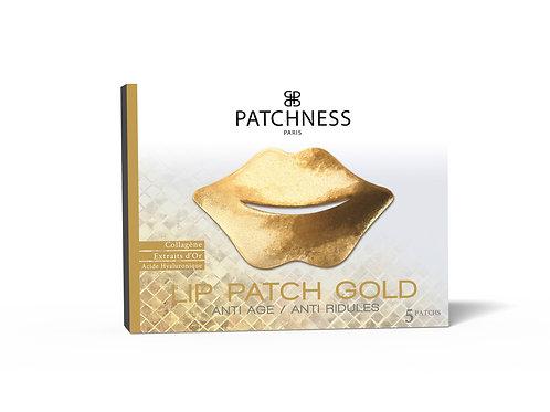 Patchness Lip Patch Gold Ультразволожуючі патчі для контуру губ