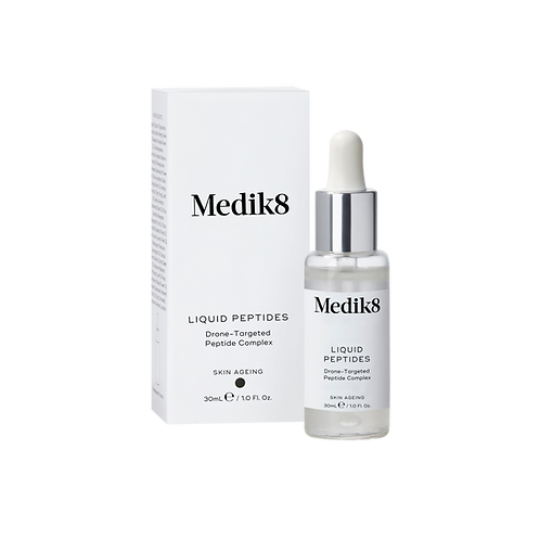 Medik8 LIQUID PEPTIDES Комплекс зволожувальних пептидів на косметичних дронах