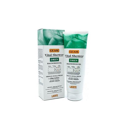 GUAM Соль-гель для душа Vital Shower освежающий с дренажным эффектом