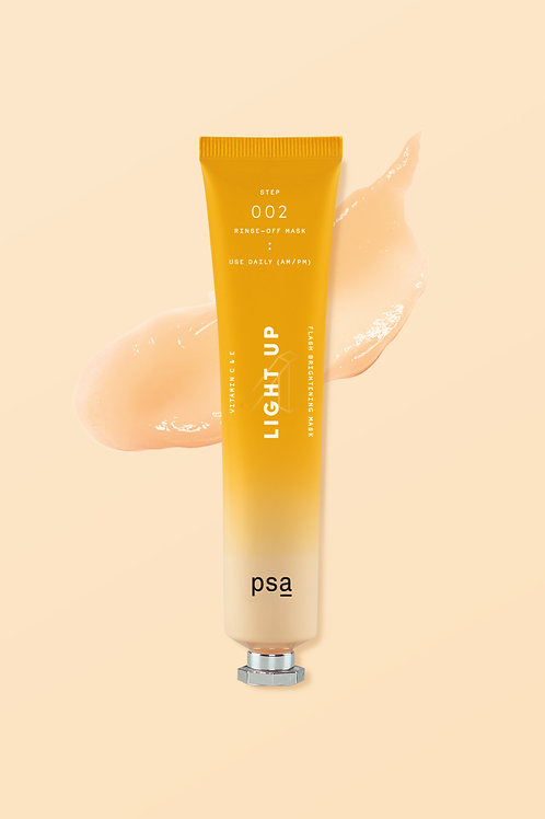 PSA LIGHT UP VITAMIN C&E FLASH BRIGHTENING MASK