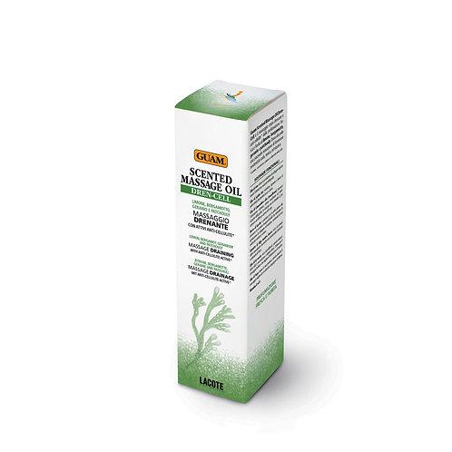GUAM Массажное масло DREN-CELL с ароматом (дренажное действие)