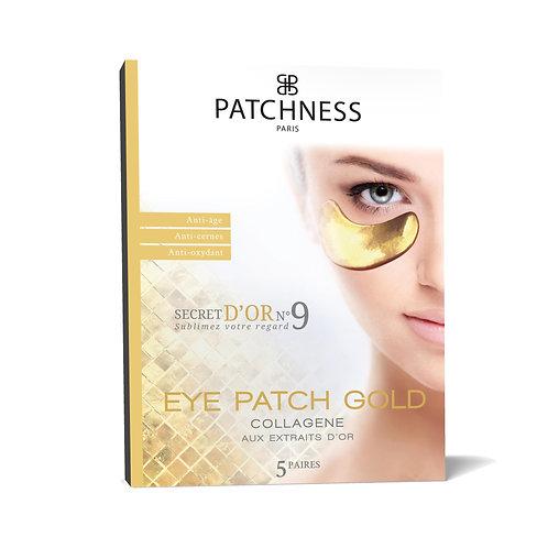 Patchness Eye Patch Gold Антивікові патчі під очі з екстрактом золота