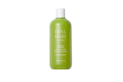 RATED GREEN REAL MARY COLD BREWED ROSEMARY EXFOLIATING SCALP SHAMPOO