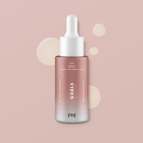 PSA GOALS MULTI ACIDS & PROBIOTICS PERFECTING NIGHT SERUM