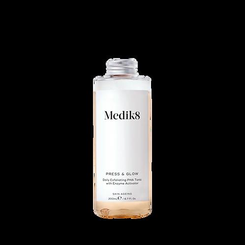 Medik8 Press & Glow refill Щоденний відлущувальний тонік із РНА 5,5%