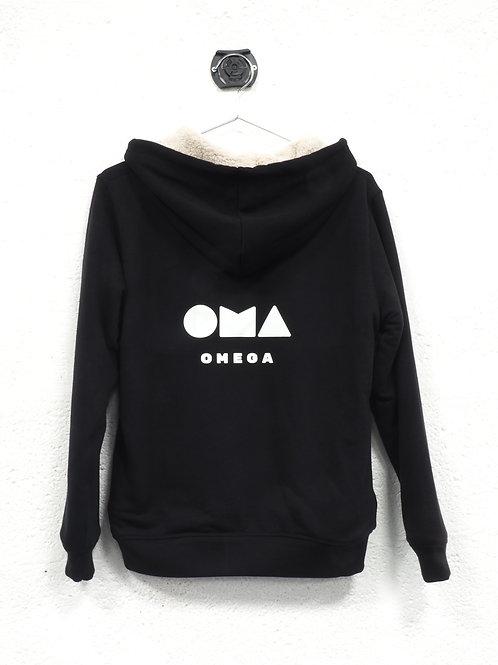 Veste sherpa Omega