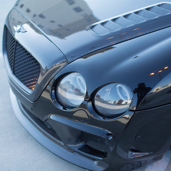 BENTLEY CARBON FIBER KIT - 7 PIECE