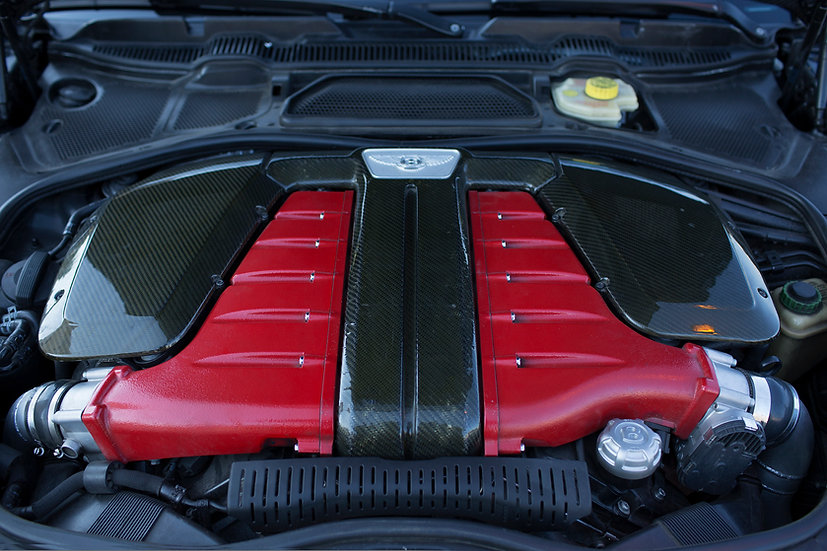 BENTLEY CARBON FIBER AIR BOX COVER