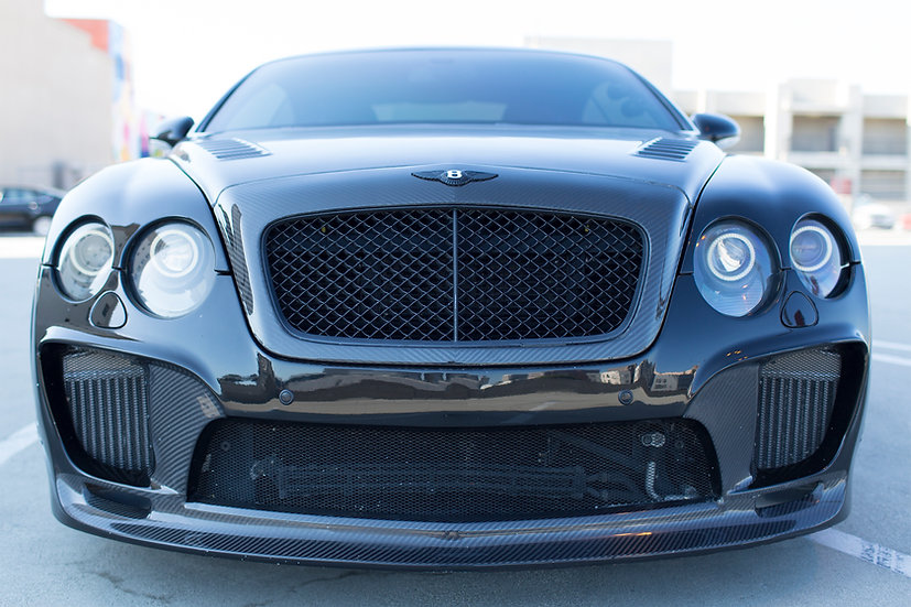 BENTLEY CARBON FIBER FRONT GRILL