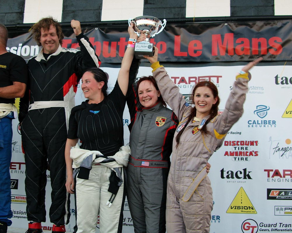 FIRST WOMEN'S TEAM TO PLACE AT POC TRIBUTE TO LE MANS