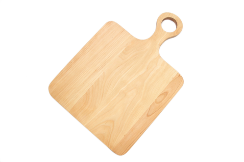 Hardwood Cutting Board with Round Handle