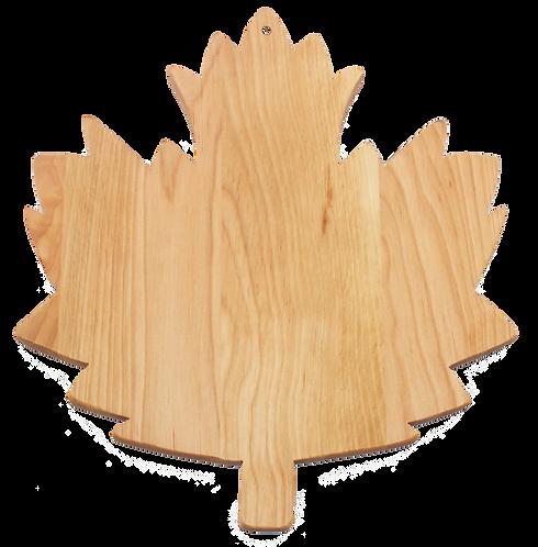 Maple Leaf Cutting Board (Large)