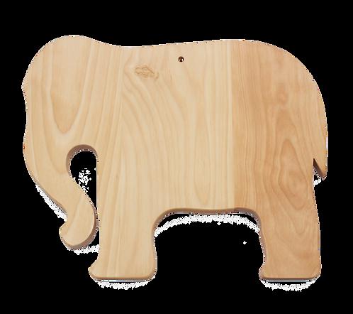 Elephant Shaped Cutting Board