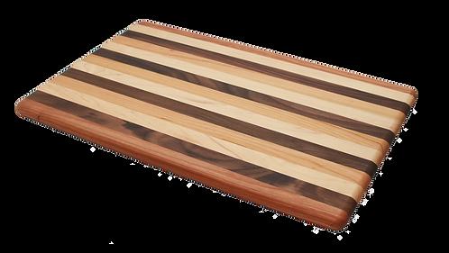 13x21 Mixed Wood Cutting Board