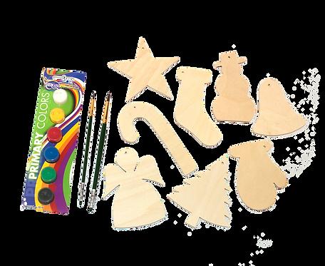 Christmas Paint Set, Craft Gift Set, DIY Paint Gift Kit