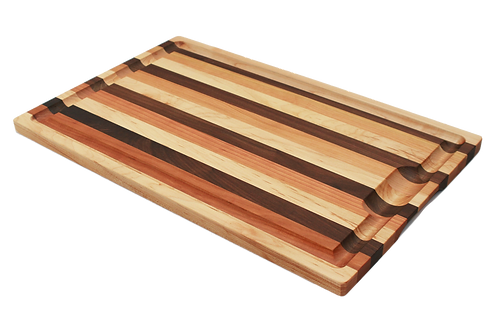 13x21 In. Mixed Wood Carving Board