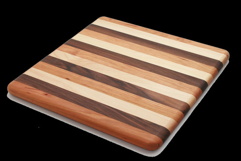 Our Multi Wood Cutting Boards Are A Beautiful Combination Of Walnut Cherry And Maple Hardwoods With Food Safe Mineral Oil Finish