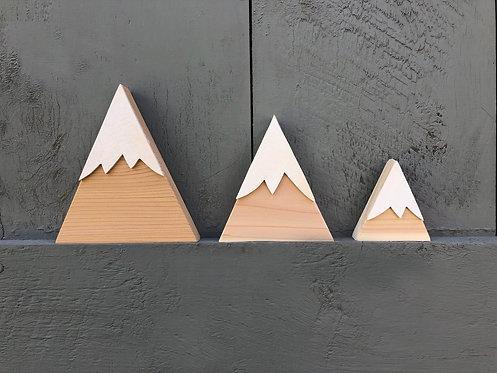 Small Cedar Wood Mountains, Setof 3